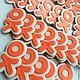Кулинарные сувениры ручной работы. Ярмарка Мастеров - ручная работа. Купить Изготовление логотипа на заказ - пряники / печенье. Handmade.