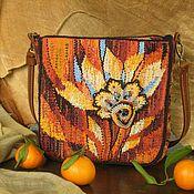 Сумки и аксессуары handmade. Livemaster - original item bag fall. Hand weaving.. Handmade.