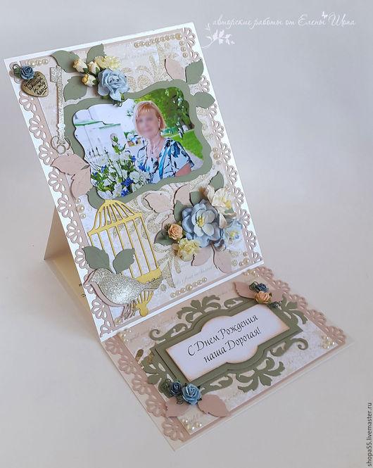 """Открытки на день рождения ручной работы. Ярмарка Мастеров - ручная работа. Купить Открытка  на день рождения """"Любимой маме"""" открытки ручной работы. Handmade."""