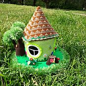 handmade. Livemaster - original item Fairy-tale house teremok. Handmade.