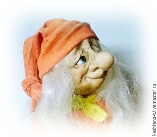"""Коллекционные куклы ручной работы. Ярмарка Мастеров - ручная работа. Купить авторская кукла """"ГНОМИКИ"""". Handmade. Ярко-красный, подарок"""