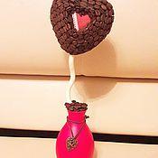 """Цветы и флористика ручной работы. Ярмарка Мастеров - ручная работа Кофейное деревце """"Сердце""""!!!. Handmade."""
