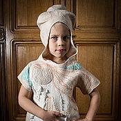 Работы для детей, handmade. Livemaster - original item Protective felt dress angel girl. Handmade.
