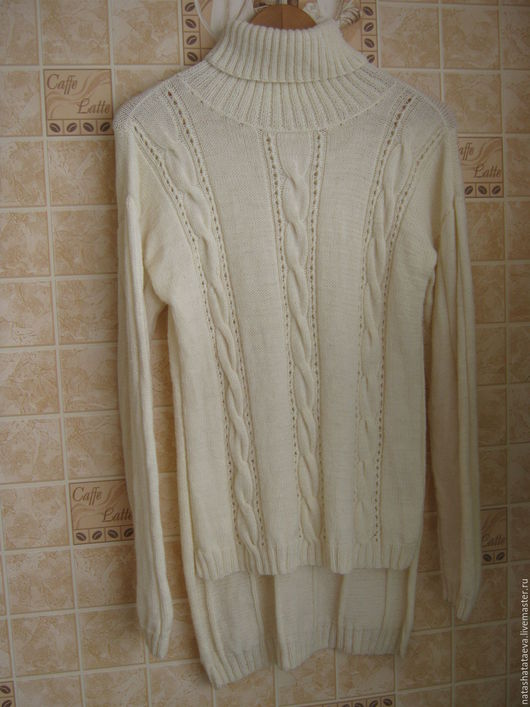 Кофты и свитера ручной работы. Ярмарка Мастеров - ручная работа. Купить свитер женский. Handmade. Белый, свитер женский
