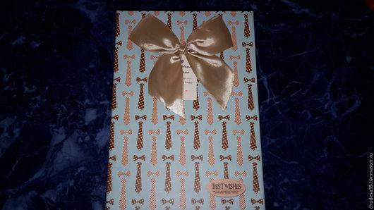 Подарочная упаковка ручной работы. Ярмарка Мастеров - ручная работа. Купить Подарочный коробки Галстук. Handmade. Комбинированный, короб