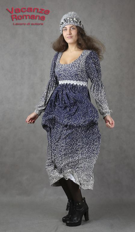 Платья ручной работы. Ярмарка Мастеров - ручная работа. Купить Vacanze Romane-1108. Handmade. Авторское платье, разноцветный