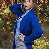 Одежда ручной работы. Ярмарка Мастеров - ручная работа Bleu vif... Handmade.