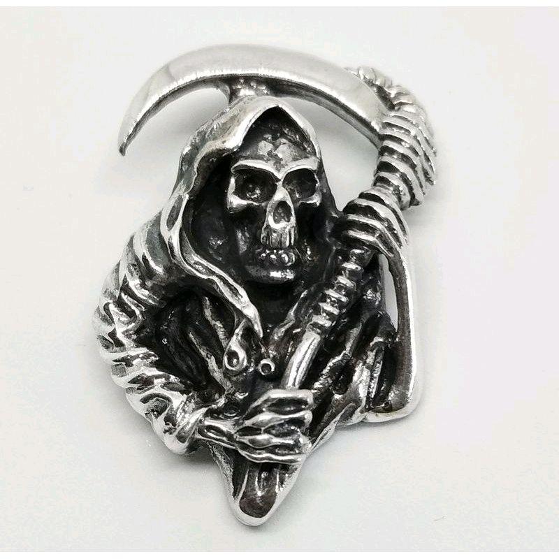 Смерть с косой серебро, Украшения, Москва,  Фото №1