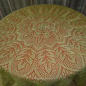 Для дома и интерьера ручной работы. Ярмарка Мастеров - ручная работа скатерть круглая..... Handmade.