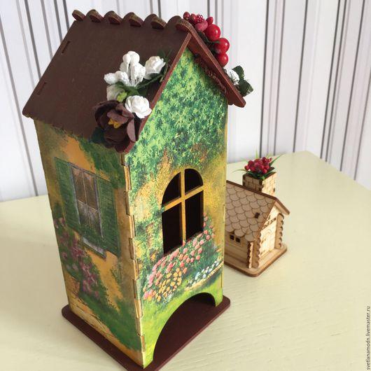 """Кухня ручной работы. Ярмарка Мастеров - ручная работа. Купить Чайный домик """"Дворик Венеции"""". Handmade. Бежевый"""
