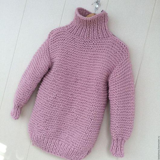 Кофты и свитера ручной работы. Ярмарка Мастеров - ручная работа. Купить Свитер из толстой пряжи. Handmade. Толстая пряжа