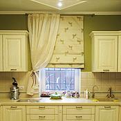 Для дома и интерьера ручной работы. Ярмарка Мастеров - ручная работа Шторы для гостиной-столовой. Handmade.