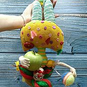 Куклы и игрушки handmade. Livemaster - original item Knitted Clown doll. Handmade.