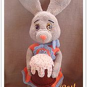 Куклы и игрушки ручной работы. Ярмарка Мастеров - ручная работа Пасхальные зайцы. Handmade.