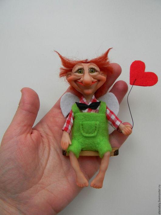 Человечки ручной работы. Ярмарка Мастеров - ручная работа. Купить Все, что вам нужно.... Handmade. Интерьерная кукла, подарок с любовью