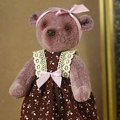 Куклы и игрушки ручной работы. Ярмарка Мастеров - ручная работа Мишка тедди Лило. Handmade.