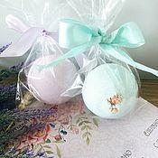 Косметика ручной работы handmade. Livemaster - original item Floral bath Bombs with cream. Handmade.