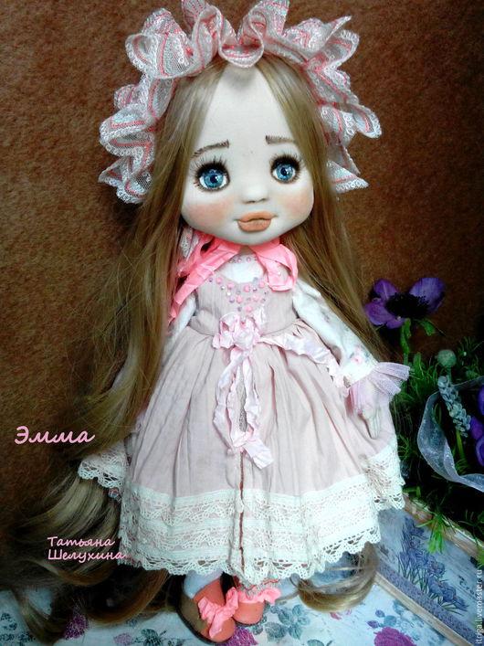 Коллекционные куклы ручной работы. Ярмарка Мастеров - ручная работа. Купить кукла  Эмма. Handmade. Кукла, кукла для девочки, текстиль