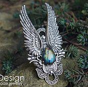 Украшения handmade. Livemaster - original item Ring with diamond