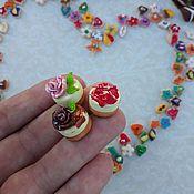Куклы и игрушки handmade. Livemaster - original item Sweets for Dollhouse miniatures - Food for dolls. Handmade.