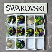 Материалы для творчества handmade. Livemaster - original item 1 PCs 12mm Rivoli Vitrail Medium 001VM Swarovski Rivoli Swarovski. Handmade.