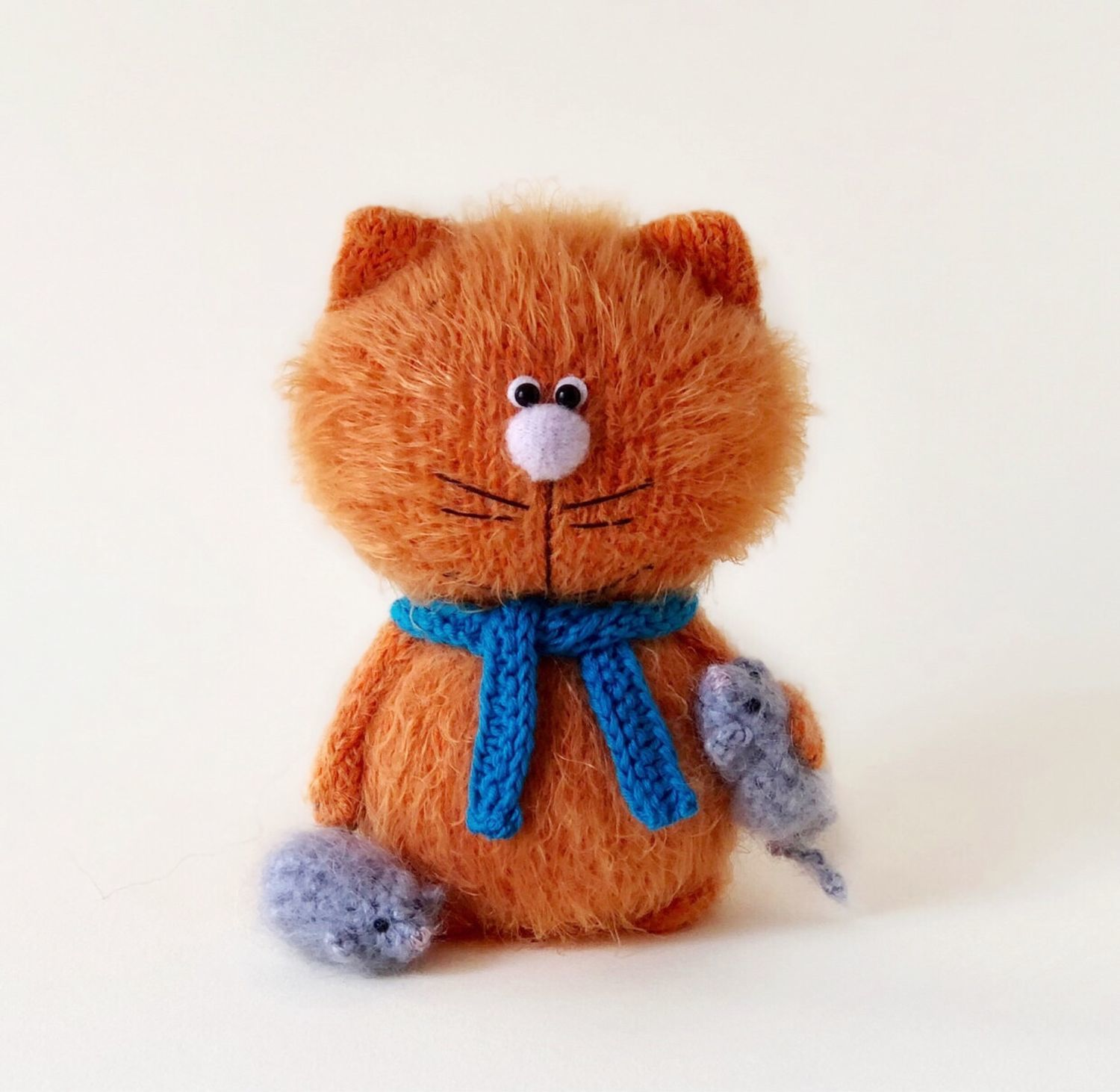 Cat Ginger, Stuffed Toys, Moscow,  Фото №1
