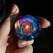 Сувениры и подарки handmade. Livemaster - original item Glass ball Personal galaxy. Space Sphere Meditation Universe Cosmos. Handmade.