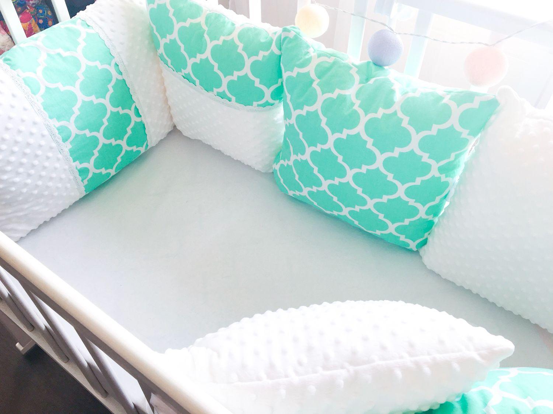 Комплект бортиков в кроватку, Текстиль, Москва, Фото №1