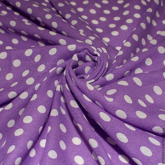 Шитье ручной работы. Ярмарка Мастеров - ручная работа. Купить Итальянская плательная ткань MARINA RINALDI  горошек. Handmade.