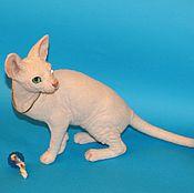 Куклы и игрушки handmade. Livemaster - original item kitty Sphinx