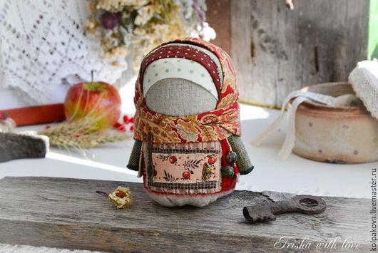 """Народные куклы ручной работы. Ярмарка Мастеров - ручная работа. Купить кукла Крупеничка(Зернушка) """" Яблочное варенье"""".. Handmade."""