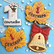 Сувениры и подарки handmade. Livemaster - original item gingerbread on 1 September. School gingerbread. Cakes for teacher appreciation Day. Handmade.