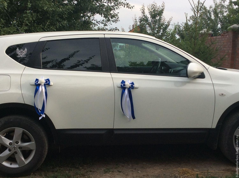 Ленты на свадебные машины