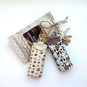 Сумки и аксессуары handmade. Livemaster - original item Key holders (leather), a series of