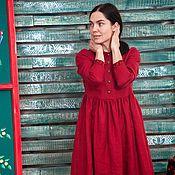 Платья ручной работы. Ярмарка Мастеров - ручная работа Маленькое красное платье. Handmade.