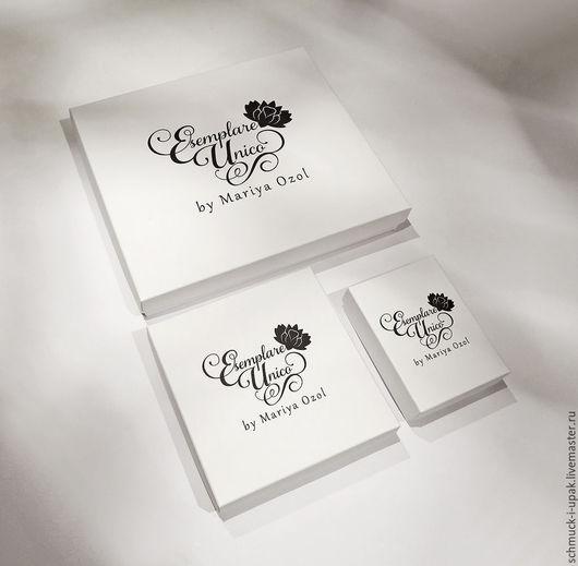 Упаковка ручной работы. Ярмарка Мастеров - ручная работа. Купить Упаковка для украшений Esemplare Unico, набор. Handmade. Коробочки, дисплей