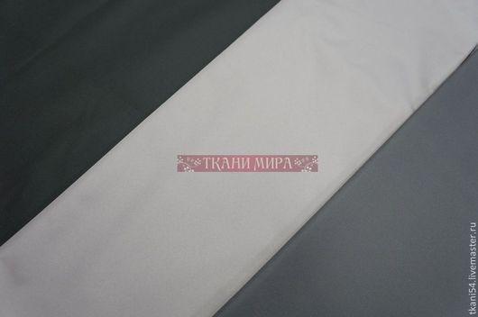 Шитье ручной работы. Ярмарка Мастеров - ручная работа. Купить Ткань плащевая Поли понж (Дюспо) WR PU Milky. 150 cм. Handmade.