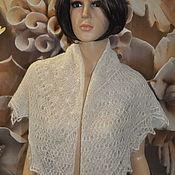 Аксессуары handmade. Livemaster - original item Down shawl, fine handmade.. Handmade.