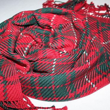 Accessories handmade. Livemaster - original item Woven scarf made of Italian yarn. Handmade.