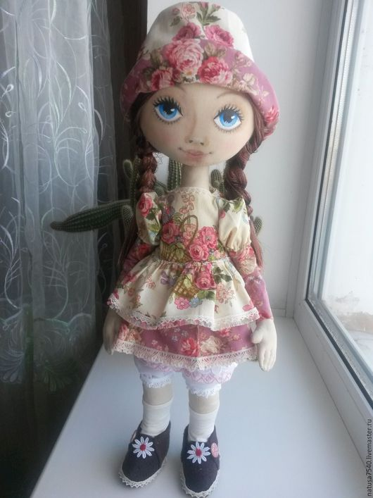 Коллекционные куклы ручной работы. Ярмарка Мастеров - ручная работа. Купить интерьерная кукла. Handmade. Комбинированный, подарок на день рождения