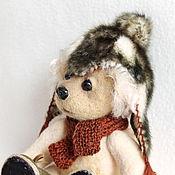 Куклы и игрушки ручной работы. Ярмарка Мастеров - ручная работа Ёжик Фомка. Handmade.