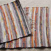 Для дома и интерьера ручной работы. Ярмарка Мастеров - ручная работа Половик ручного ткачества (№ 90). Handmade.