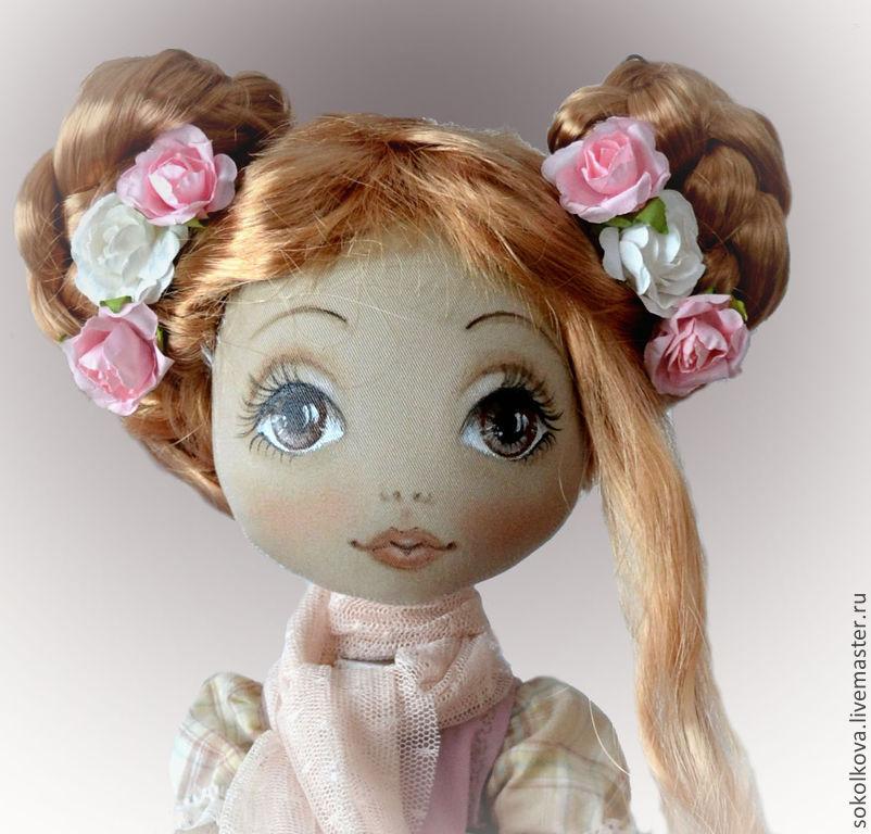 Лицо у куклы мастер класс