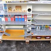 Для дома и интерьера handmade. Livemaster - original item Parking. Garage For The Cars. The Rack (Part 1). Handmade.