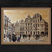 """Картины ручной работы. Ярмарка Мастеров - ручная работа Картина на холсте """"Бельгия. Брюссель"""". Handmade."""