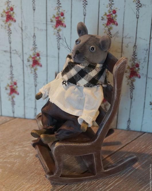 Мишки Тедди ручной работы. Ярмарка Мастеров - ручная работа. Купить Мых - маленький мышонок. Handmade. Мышка, мышка тедди