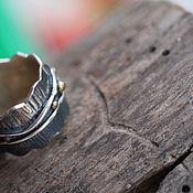 Кольца ручной работы. Ярмарка Мастеров - ручная работа 18 широкое Кольцо серебряное. Handmade.