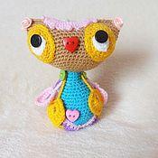 Куклы и игрушки handmade. Livemaster - original item Sovushka.Knitted toy.. Handmade.