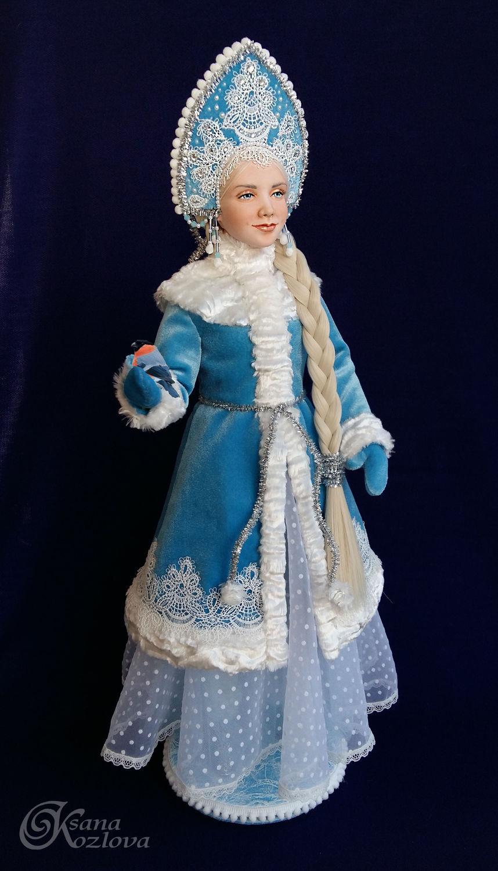 Как сделать снегурочку из куклы своими руками фото 551
