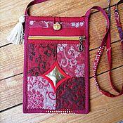 Русский стиль handmade. Livemaster - original item Handbag-delicatessen. Handmade.